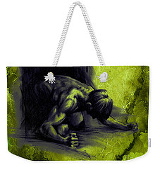 Textured Frustration Weekender Tote Bag