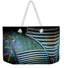 Textured Grille Weekender Tote Bag