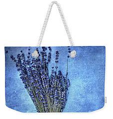 Textured Lavender  Weekender Tote Bag by Stephanie Frey