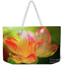 Textured Locus Weekender Tote Bag by Geraldine DeBoer