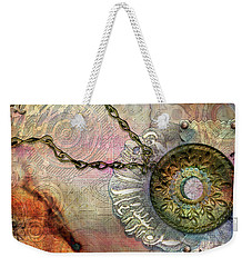Textured Past Weekender Tote Bag