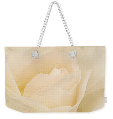 Textured Pastel Rose Weekender Tote Bag