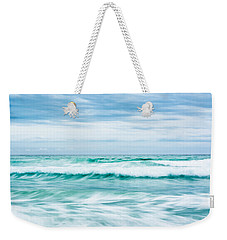 Textures In The Waves Weekender Tote Bag by Shelby  Young