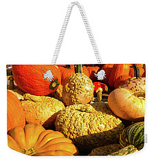 Textures Of Fall Weekender Tote Bag