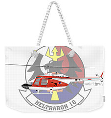 Th-57c Ht-18 Weekender Tote Bag by Arthur Eggers