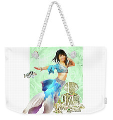 Thai Mermaid Weekender Tote Bag by Francesa Miller