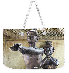 Thai Yoga Statues At Famous Wat Pho Temple Weekender Tote Bag