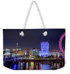 Thames Panorama Weekender Tote Bag