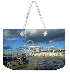 Thames River Weekender Tote Bag