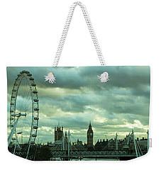 Thames View 1 Weekender Tote Bag by Steven Richman