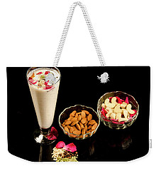 Thandai Energy Drink   Weekender Tote Bag by Manjot Singh Sachdeva