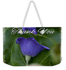 Thank You Balloon Weekender Tote Bag