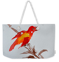 Thank You Bird Weekender Tote Bag