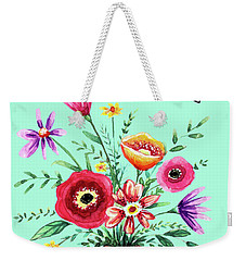 Thank You Bouquet Weekender Tote Bag