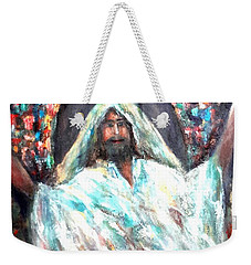 Thank You God Weekender Tote Bag
