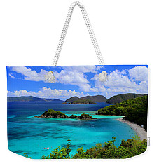 Thank You St. John Usvi Weekender Tote Bag by Fiona Kennard
