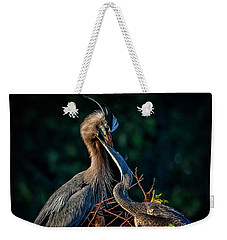 Thanks For Dinner, Mom Weekender Tote Bag by Cyndy Doty