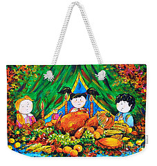 Thanksgiving Day Weekender Tote Bag