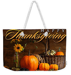 Thanksgiving I Weekender Tote Bag by  Newwwman