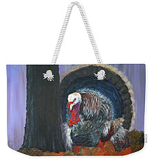 Thanksgiving Turkey Weekender Tote Bag