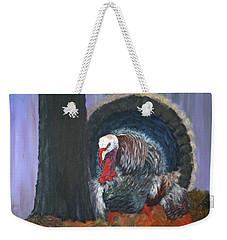 Thanksgiving Turkey Weekender Tote Bag