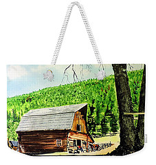 That Barn From That Movie Weekender Tote Bag