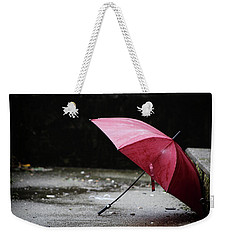 Weekender Tote Bag featuring the photograph That Love The Dried  by Empty Wall