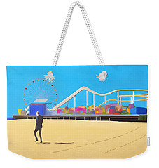 That Man On The Beach Weekender Tote Bag