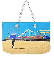 That Man On The Beach Weekender Tote Bag