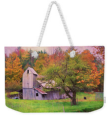 That Old Gray Barn Weekender Tote Bag