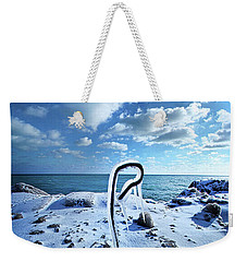 Weekender Tote Bag featuring the photograph That One Weird Thing by Phil Koch