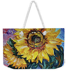 That Sunflower From The Sunflower State Weekender Tote Bag