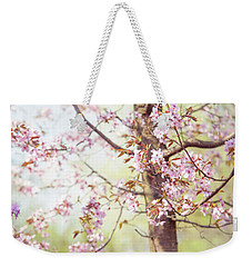 Weekender Tote Bag featuring the photograph That Tender Joyful Spring by Jenny Rainbow