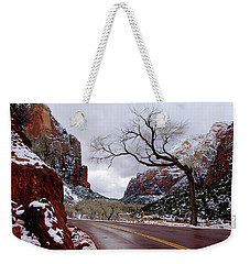 That Tree In Zion Weekender Tote Bag