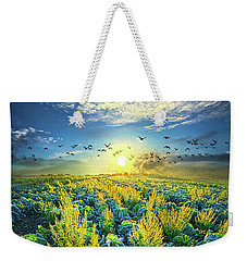That Voices Never Shared Weekender Tote Bag by Phil Koch