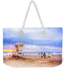 That Was Amazing Watercolor Weekender Tote Bag