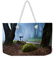 That Way Weekender Tote Bag by Jorge Maia