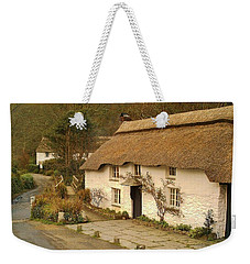 Thatched Cottage By Ford  Weekender Tote Bag by Richard Brookes