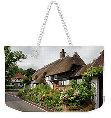 Thatched Cottages In Micheldever Weekender Tote Bag