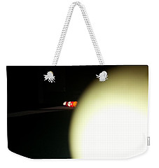 Weekender Tote Bag featuring the photograph That's No Moon by Robert Knight