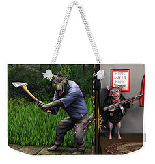 That's What You Think Wolf Weekender Tote Bag