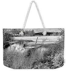 Thawing Edge Weekender Tote Bag