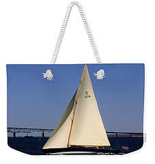 The 12 Meter Newport Weekender Tote Bag