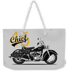 The 1946 Chief Weekender Tote Bag by Mark Rogan