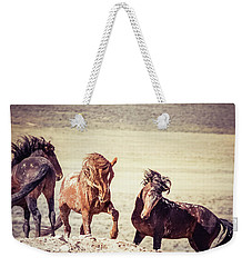 The 3 Amigos Weekender Tote Bag by Mary Hone