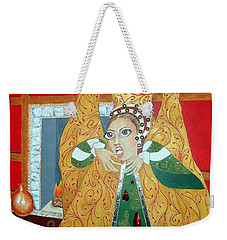 The 5th, Beheaded -- Tudor Portrait, Catherine Howard, #3 In Famous Flirts Series Weekender Tote Bag