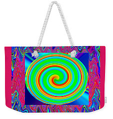 The 60s Trippin Weekender Tote Bag