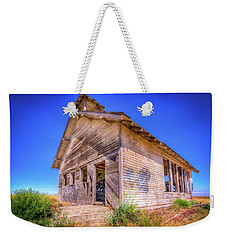 The Abandoned School House Weekender Tote Bag by Spencer McDonald