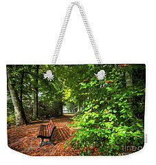 The Abbey's Bench 2 Weekender Tote Bag