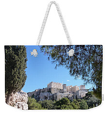 The Acropolis Weekender Tote Bag by Constance DRESCHER